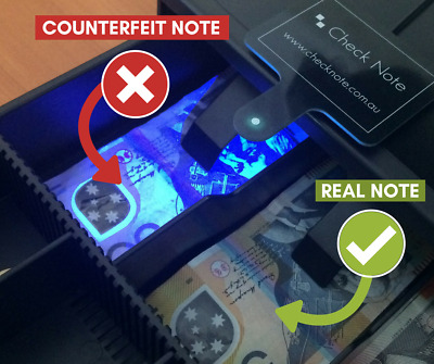 Cash Drawer Mounting Counterfeit Currency Detection Device (Check Note)