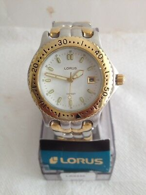 Lorus T.tone W/ DATE Quartz Men's Watch. New. Free Shipping
