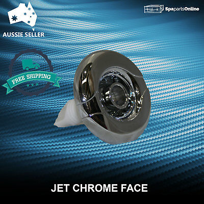 Spa Bath Jet Directional Chrome Face
