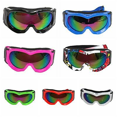 Kids Youth Goggles for PeeWee PW Bike Motorcycle Tinted Mx Dirt Bike Off Road
