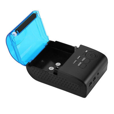 Portable 58mm Mini Wireless Bluetooth Thermal Receipt Printer for Android Mobile