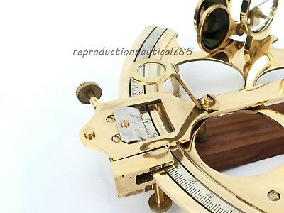 Vintage Nautical Antique Brass Sextant Maritime Astrolabe Sextant Home Decor