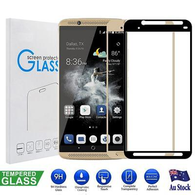3D Full Coverage Tempered Glass LCD Screen Protector Guard for ZTE Axon 7
