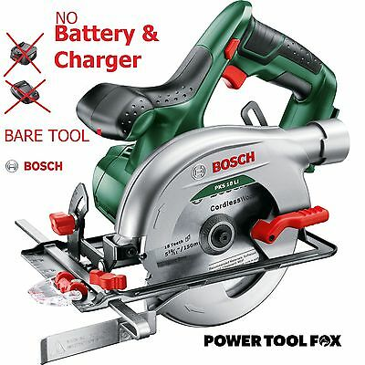 New Bosch-PKS-18 Li Cordless CIRCULAR SAW 06033B1300 3165140743266