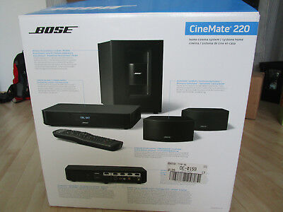bose cinemate 220 inkl bose sound touch wireless adapter standf e f r boxen eur 406 00. Black Bedroom Furniture Sets. Home Design Ideas