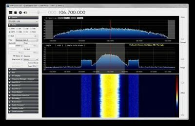 Simple RF Spectrum Analyzer using USB dongle