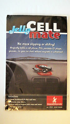 Jelly Cell Mate – Holds cell phones, PDA, CD players, Glasses & More BLACK NIP