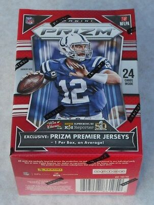 Panini Prizm 2015 Nfl Trading Cards Lot Of 6 Super Packs New & Sealed