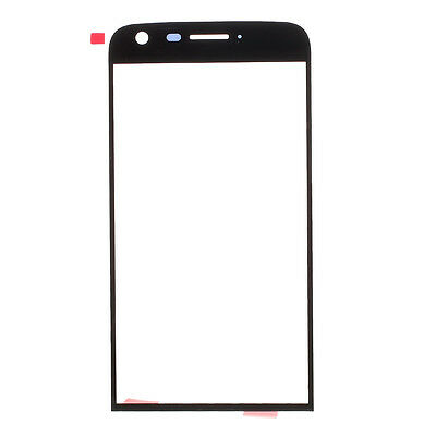 OEM Outer Front Screen Glass Lens Replacement Part for LG G5 - Black