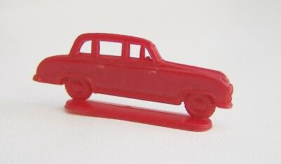 Alte Margarinefigur (?) - Modellauto - Borgward - rot