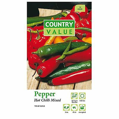 Chilli Pepper seeds.vegetable,garden,plants,pot,flower,fast Growing,easy,