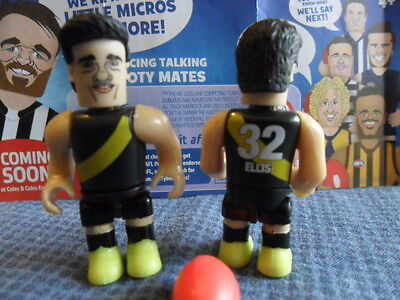 Afl 2016 Stage 1 Set Micro Figures * Corey Ellis * Rare Young Star