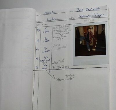 Growing Pains * 1991 Costume Designer's TV Script, PICTURE of LEONARDO DiCAPRIO
