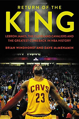 Return of the King: Lebron James the Cleveland Cavaliers (Hardcover) New Book