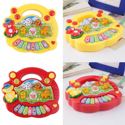 Baby Kids Musical Educational Animal Farm Piano Developmental Music Toy Gift XI