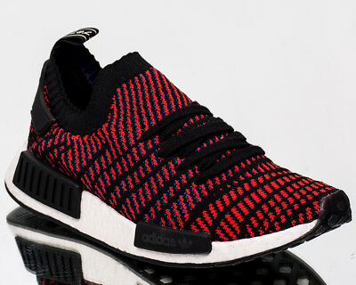 66e30d614 adidas Originals NMD R1 STLT Primeknit PK men lifestyle NEW black red CQ2385