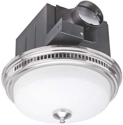 Exhaust And Ventilation Fan With Light, 110Cfm
