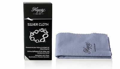 Hagerty Silver Duster Cloth Jewellers Polishing Cleaning Jewellery 36cm x 30cm