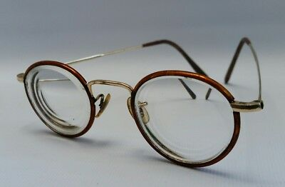 Vintage Tortoiseshell & Rolled Gold Steampunk Spectacles Reading Glasses