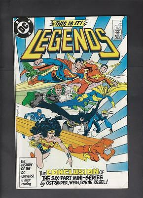 Legends 6 VF 8.0 1st Appearance New Justice League Limited Series Hi-Res Scans