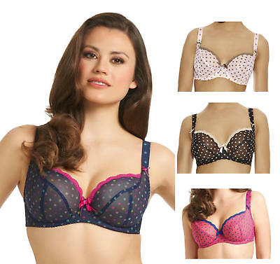 a1ca95ec9cd FREYA PATSY PADDED Half Cup Bra 1223 Underwired Push Up Plunge ...