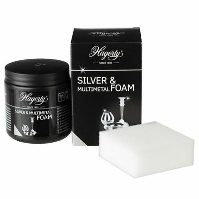 Hagerty Silver Paste Jewellers Jewellery Metal Shine Cleaning Foam 925 999 185g
