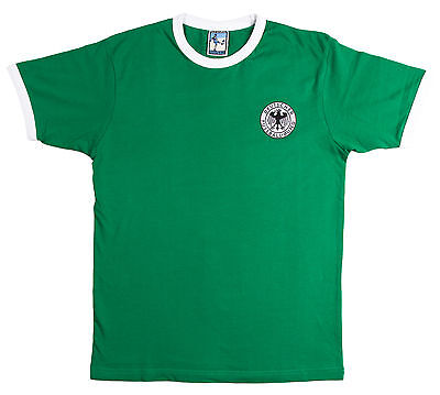 West Germany Football T Shirt Size S-XXL Embroidered Logo