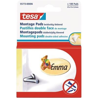 tesa® 55773 Mounting Pads Double Sided Adhesive 25 x 12mm
