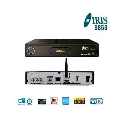 Decodificador Satelite Iris 9800 Hd Wifi + Cable Hdmi +Mrw -Distribuidor Oficial