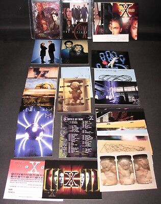 X Files Series 1 Full Set 72 Cards NM Topps 1995,1 Etched Foil # i3 & 2001 Promo