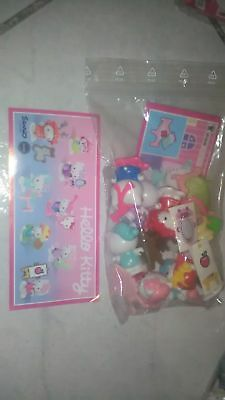 Kinder hello kitty 2016  FF325-FF332. Collection from Russia+8 BPZ
