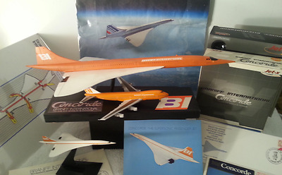 "Pacmin Postcards+1 Concorde ""18'' Long Super Travel Agent  79/80 Prop ""+stand*"