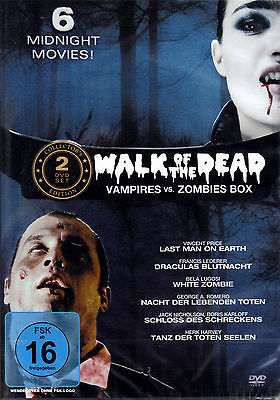 Walk of the Dead   - 2 DVDs -  6 Filme - neu & ovp - Vincent Price, George..