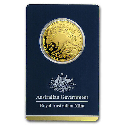 2018 Australia 1/2 oz Gold RAM Kangaroo (In Assay) - SKU#158941