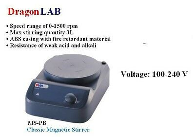 DragonLAB MS-PB Classic Magnetic Stirrer    mixer, shaker, laboratory instrument