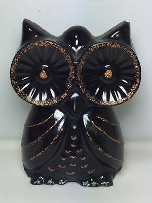 Vintage lucite owl wall hanger