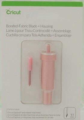 Cricut Bonded Fabric Blade + Housing 1.1mm 2004227 Pink Color Cricut Explore