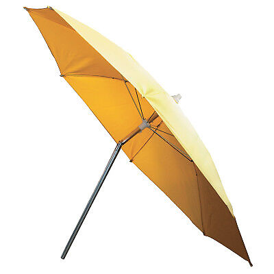 Welding Umbrella, 7 Ft H, Yellow, Polyvinyl