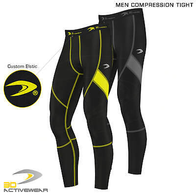 Activewear COMPRESSION | Men's Body Armour Compression Base Layer Tights Sports