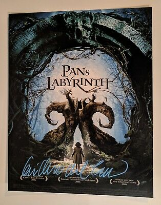 Guillermo del Toro Signed 11x14 Photo Pan's Labyrinth