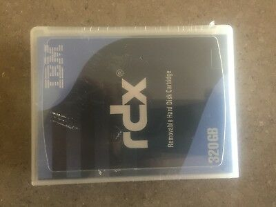 IBM 320GB  RD1000 / RDX Removable Hard Drive Cartridge - New Factory Sealed