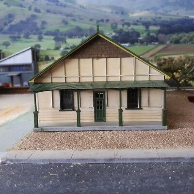 Thirroul Railway Institute Building Ho scale 1/87 CWA Hall, Town Hall