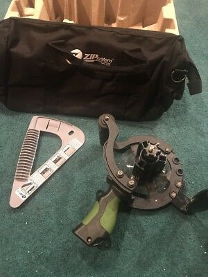 Zip System Tape Gun With Tool Bag Brand Used Once Huber