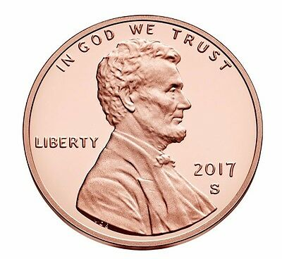 2017-S Lincoln Cent Proof - Deep Cameo coin