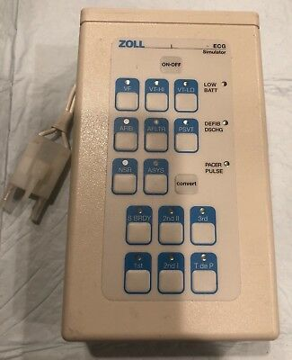 Zoll 3-Lead ECG, Defib and Pacer Simulatior
