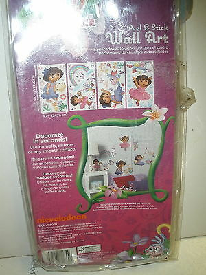 Never used Dora the Explorer Peel & Stick Wall Art