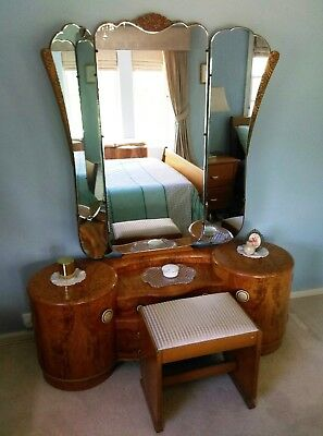 Art Deco Bedroom Suite - SEE AUCTION LISTING