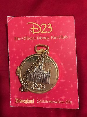 D23 The Official Disney Fan Club / Commemorative Pin / Castle and Micky Mouse