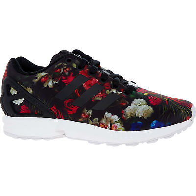 online store ec1d9 ecd65 ADIDAS ORIGINALS ZX FLUX Women s Floral Trainers Sneakers sizes UK 4 4.5 5