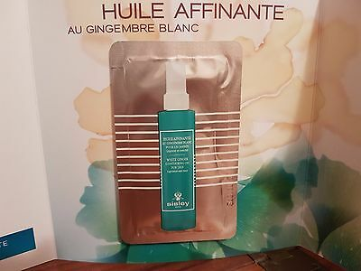 SISLEY HUILE AFFINANTE AU GINGEMBRE BLANC POUR LES JAMBES 10x8=80 ml (BUSTINE)
